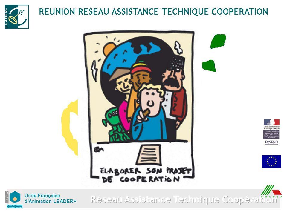 Unité Française dAnimation LEADER+ REUNION RESEAU ASSISTANCE TECHNIQUE COOPERATION