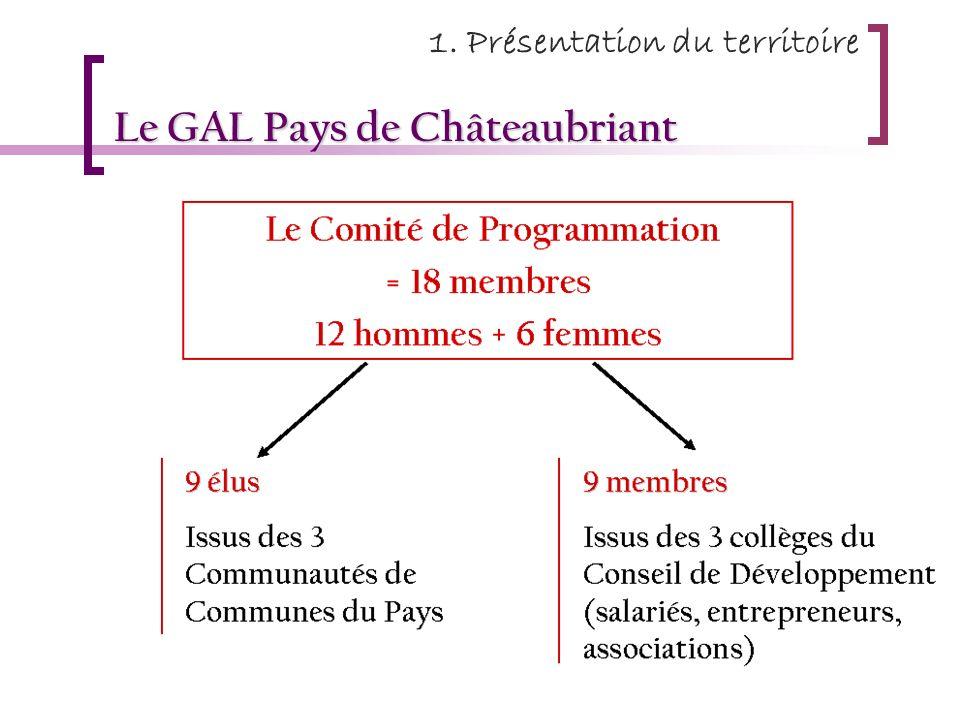 Le GAL Pays de Châteaubriant 1. Présentation du territoire