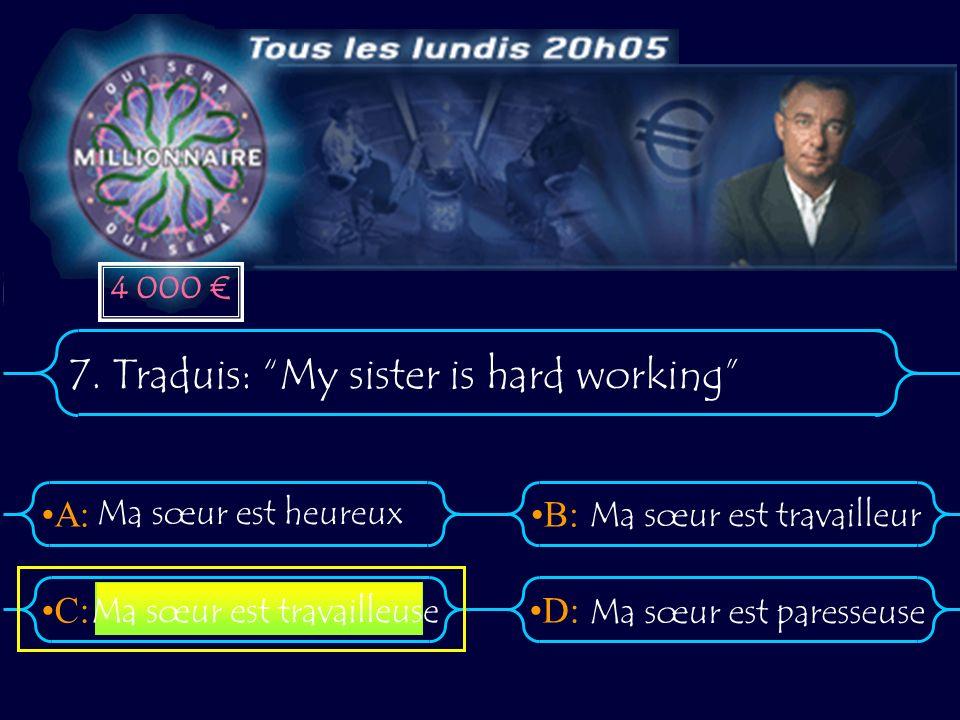 A:B: D:C: 7.