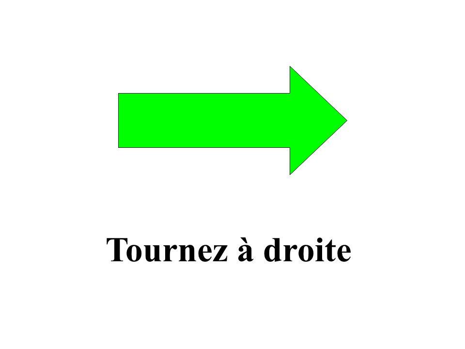 Tournez à gauche
