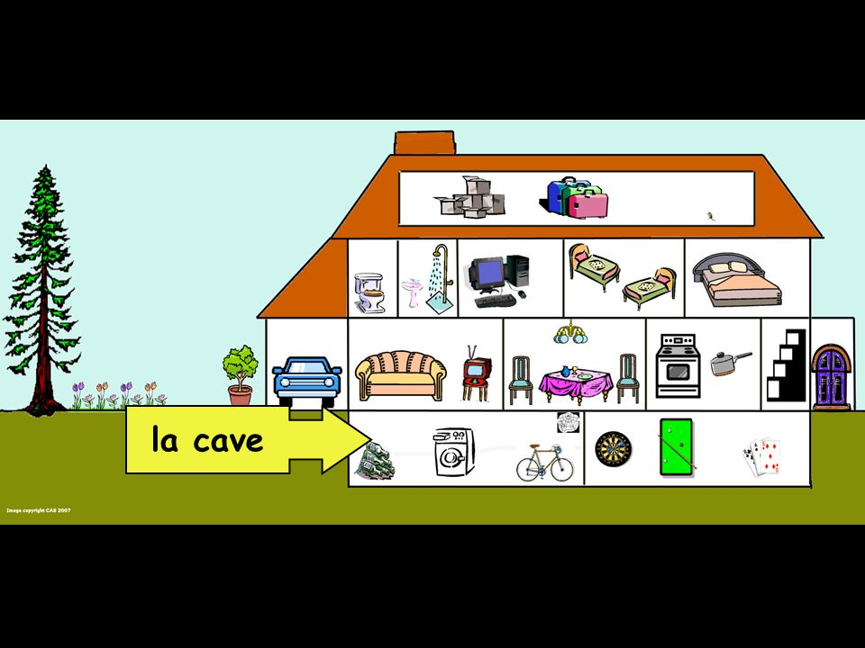 1 2 3 4 5 6 7 8 9 10 11 12 le salon le garage le W.C.