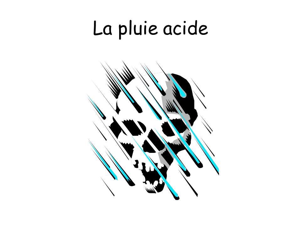 La pluie acide