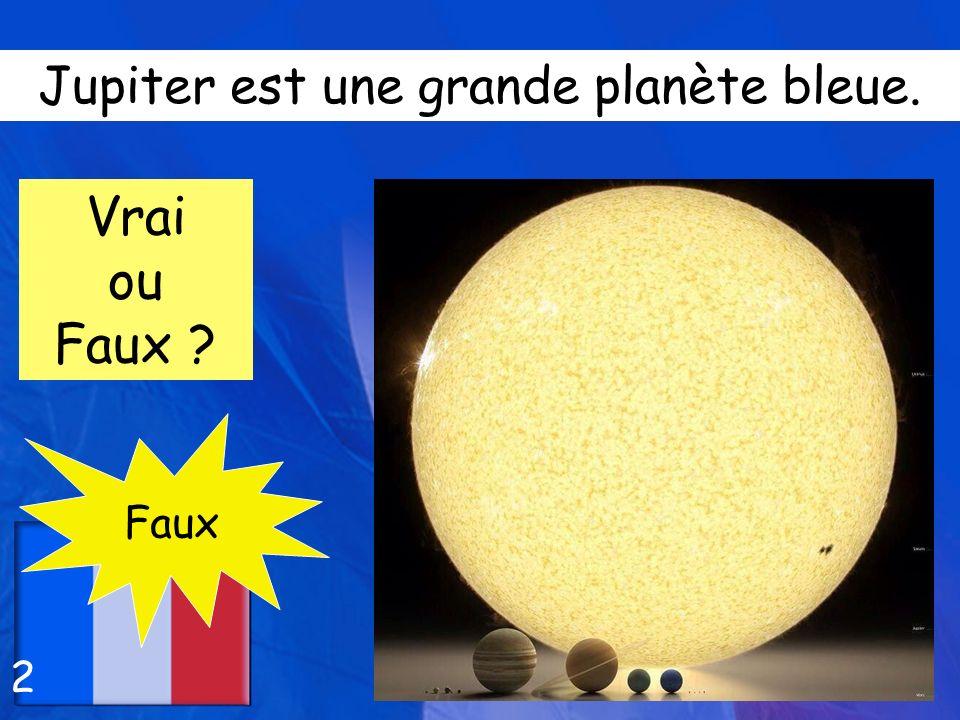 Pluton est une petite planète chaude. Vrai ou Faux ? Faux 3