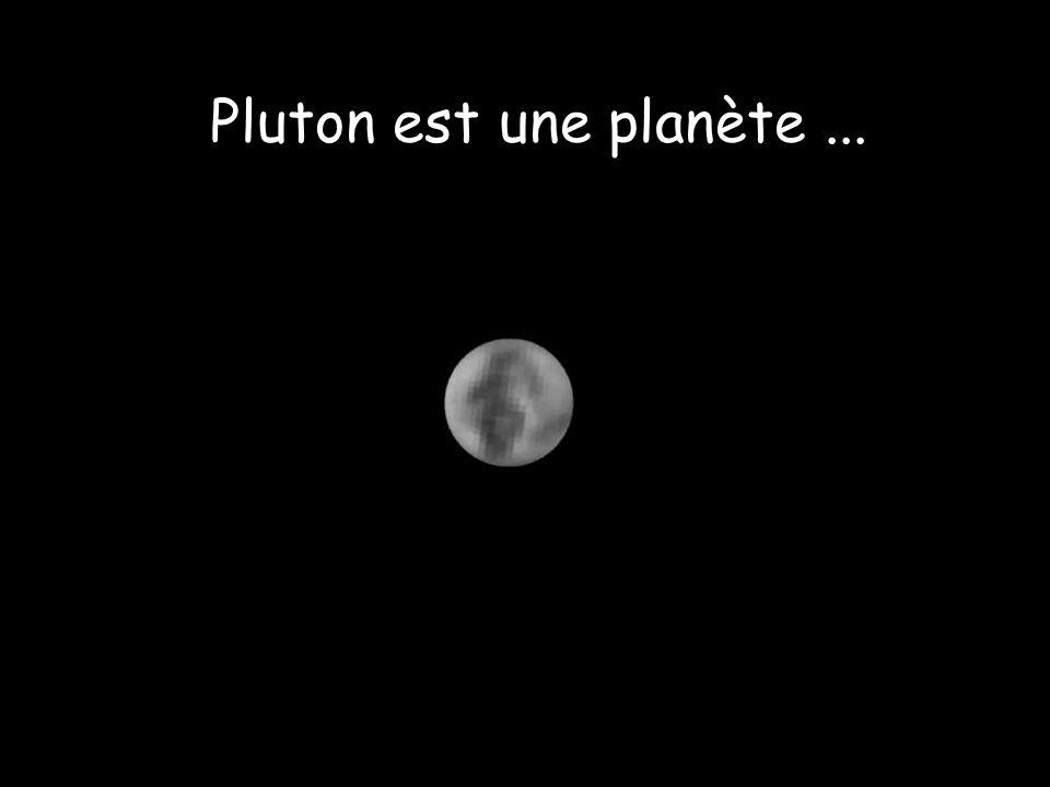Pluton est une planète...