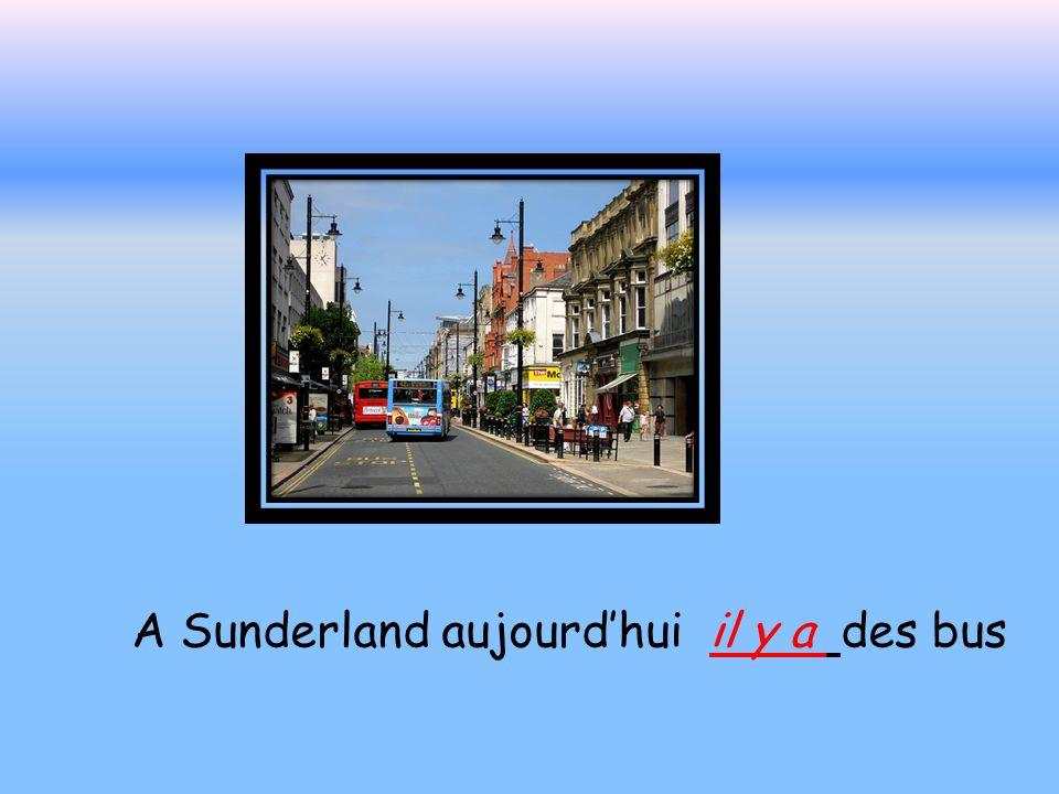 A sunderland en mille neuf cent quarante huit il y avait des trams