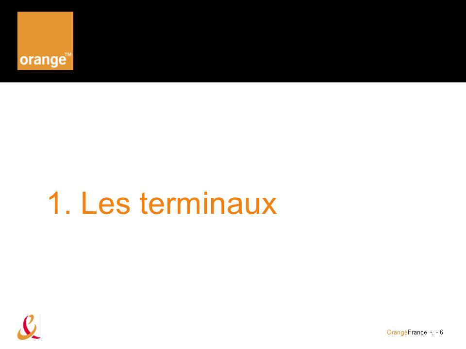 OrangeFrance – 20/02/2002 – présentation client - DME/DMD/PG, - 7 Gamme des terminaux La certification « Orange MIB » garantit une compatibilité technique et une ergonomie adaptée à la navigation sur le Portail Orange MIB.