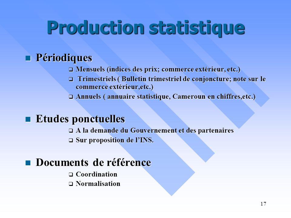 16 Ressources humaines Environ 600 personnes pour l ensemble du SNIS, dont 2/3 form é s en statistique/d é mographie,tous grades confondus Environ 600