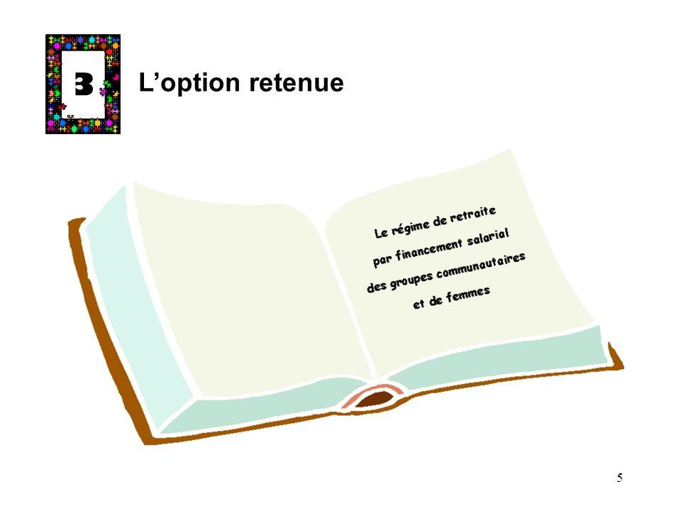 3 Loption retenue 5