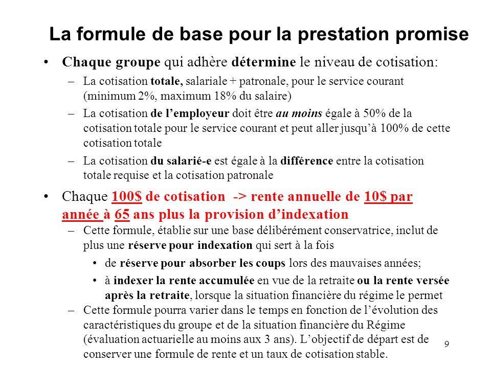 L adhésion: le groupe Un groupe admissible peut adhérer au régime si: 1) Acceptation par le Conseil dadministration Sassurer que la décision dadhérer résulte dune volonté commune éclairée du Conseil dadministration et des personnes salariées.