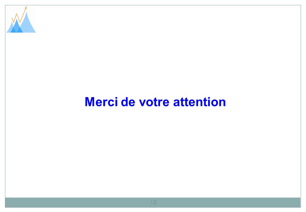 Merci de votre attention 18