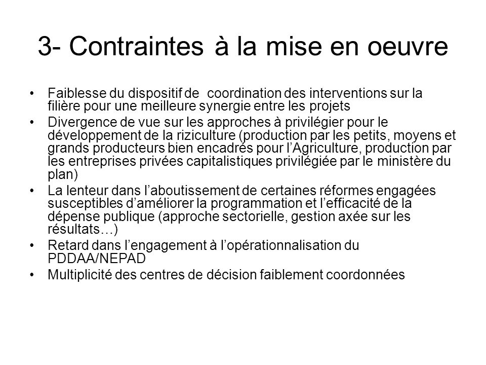 4- Situation des interventions