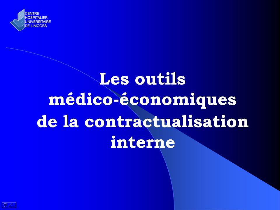 Les outils médico-économiques de la contractualisation interne