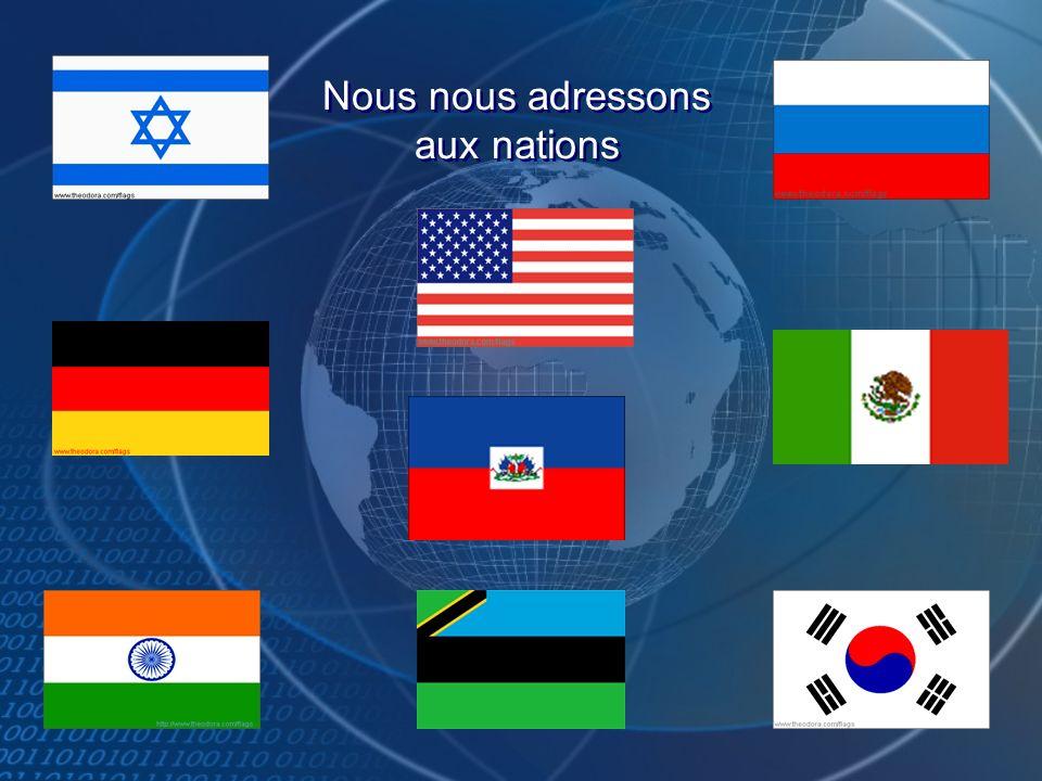 Toutes les nations de la terre se béniront par ta descendance parce que tu mas écouté.
