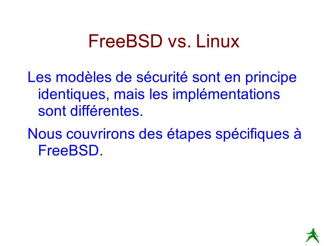 FreeBSD vs.