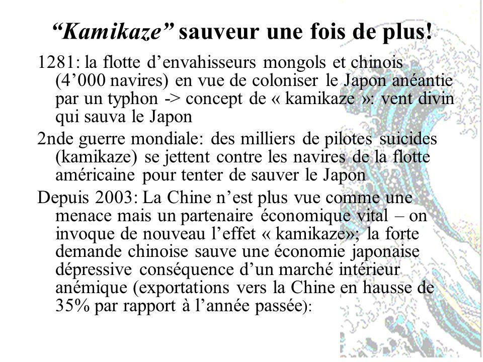 Kamikaze sauveur une fois de plus.