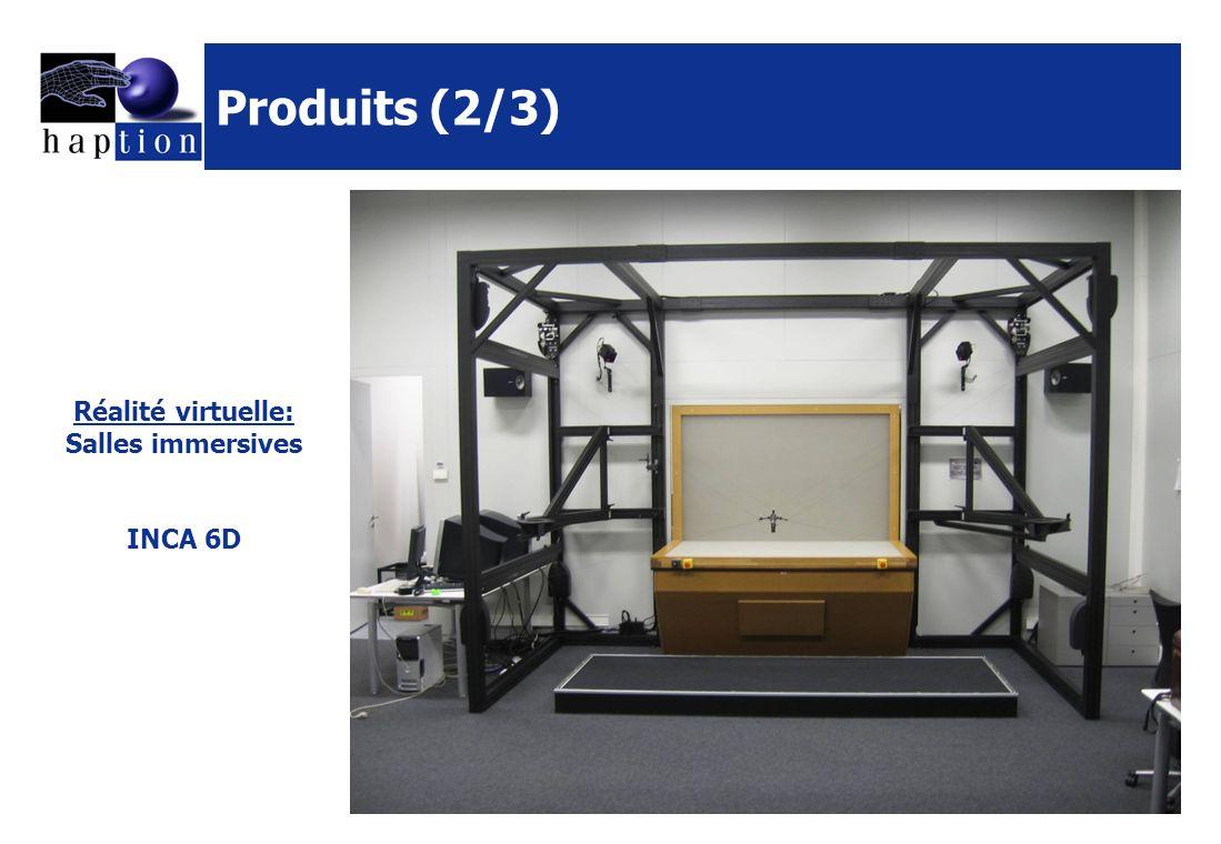 Produits (3/3) Vortex (CMLabs Simulations Inc.) I-Fitting for CATIA V5 (partenaire Dassault Systemes) Logiciels Interactive Physique Pack pour Virtools