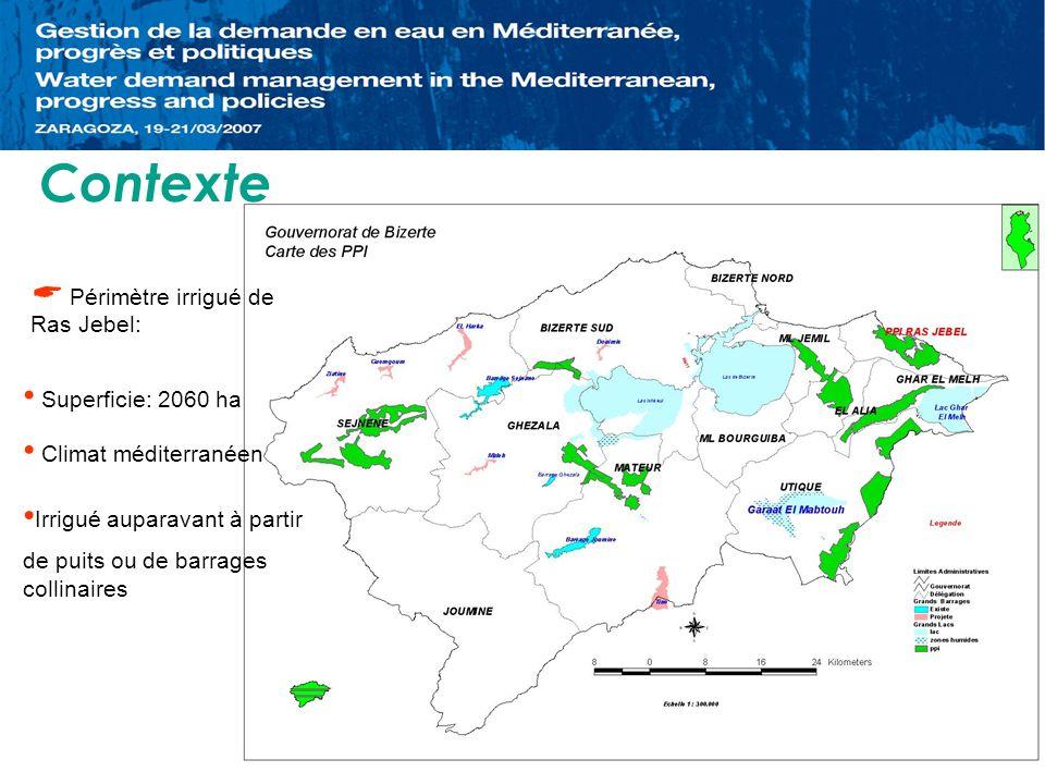 La structure foncière est complexe et caractérisée par un fort morcellement et les parcelles sont irrégulières, la superficie moyenne par exploitation est de 0,9 ha.