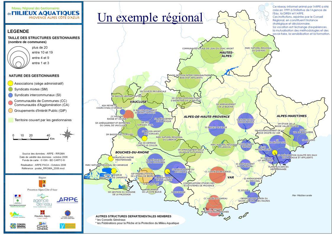 Un exemple régional