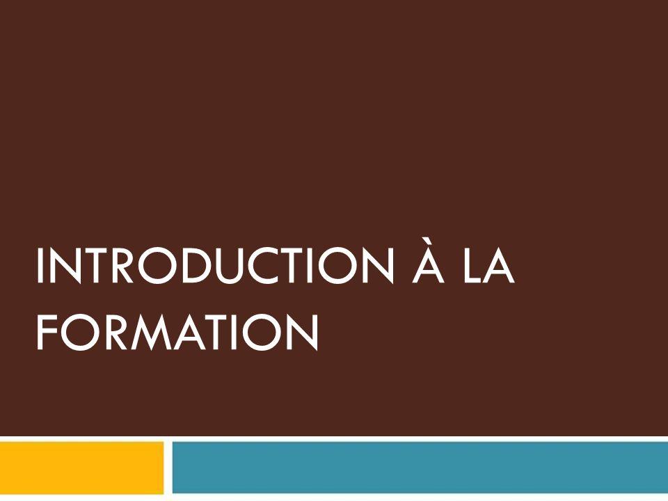 Jour 1 Introduction et contexte général du projet Pourquoi mener une évaluation des I&FF.