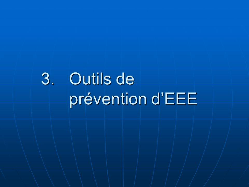 3.Outils de prévention dEEE
