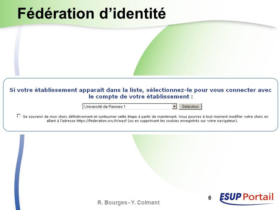 R. Bourges - Y. Colmant 17 Dépôt de documents