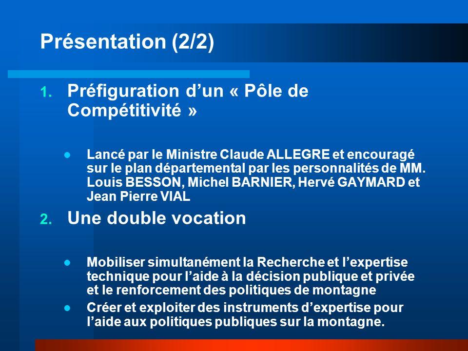 Présentation (2/2) 1.
