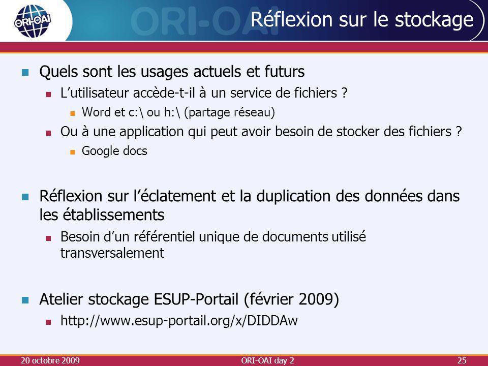 Réflexion sur le stockage Quels sont les usages actuels et futurs Lutilisateur accède-t-il à un service de fichiers .