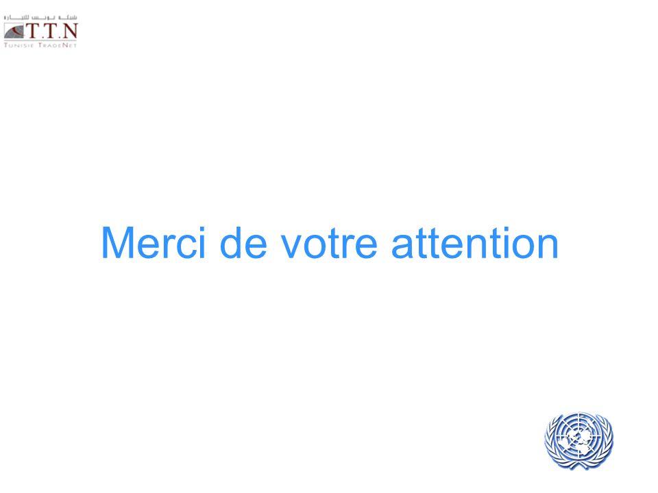 UNECE UN/CEFACT Merci de votre attention