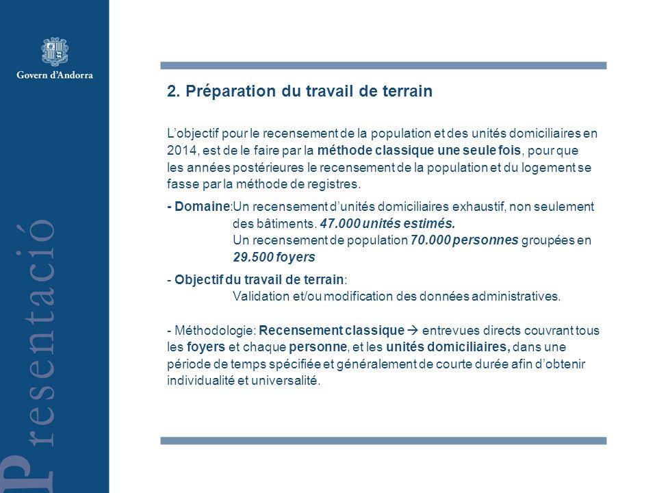 3.Phases antérieures aux travail de terrain -Remodelage légal.