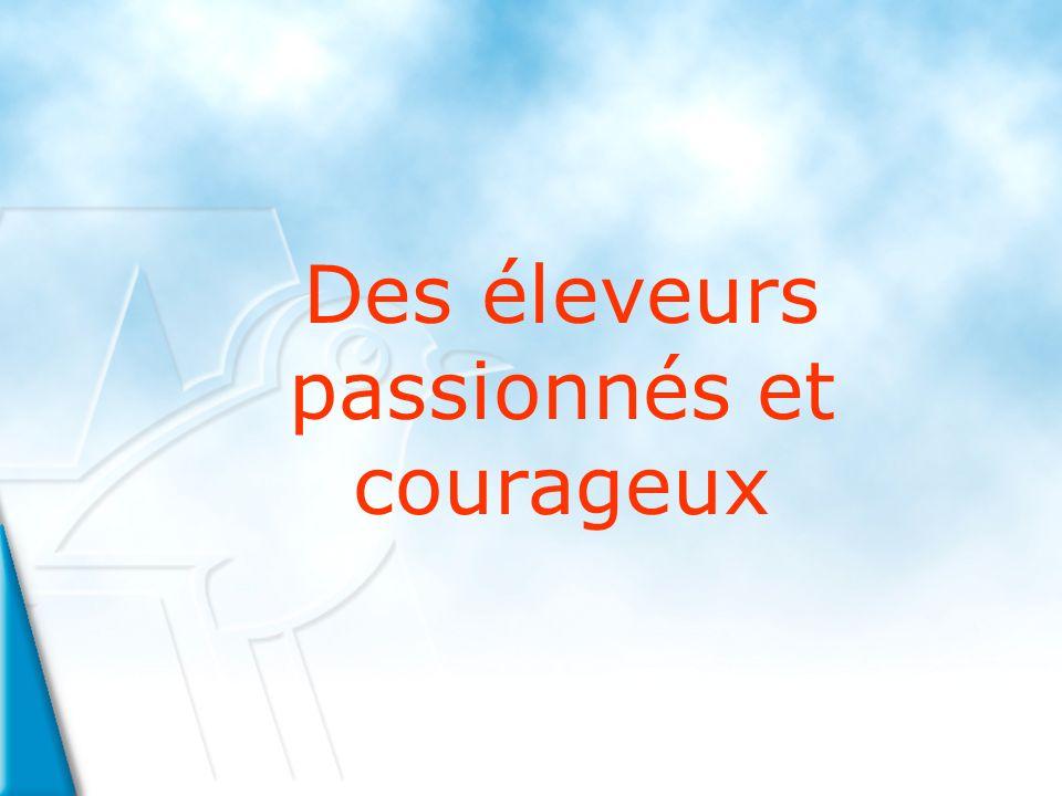 Des éleveurs passionnés et courageux