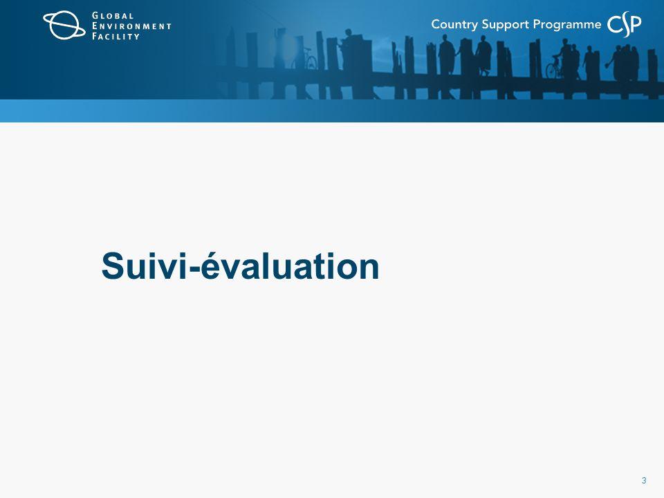 33 Suivi-évaluation