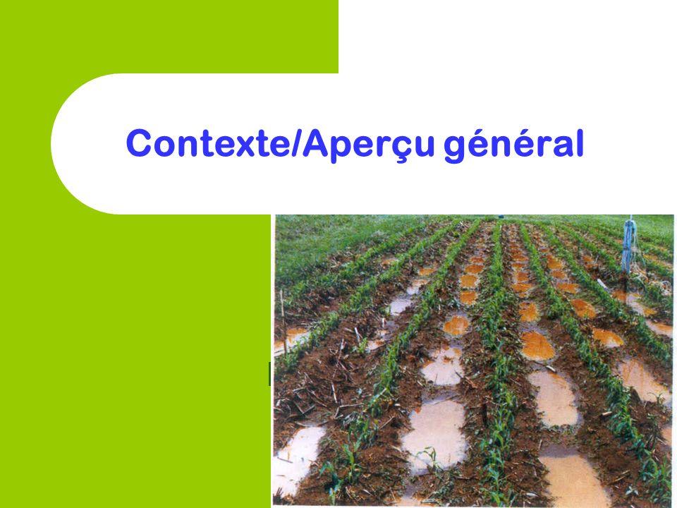 Contexte/Aperçu général
