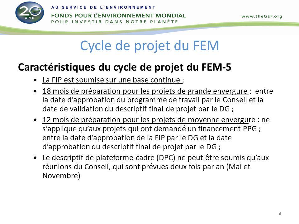 MERCI DE VOTRE ATTENTION! Site web du FEM : www.thegef.org 15