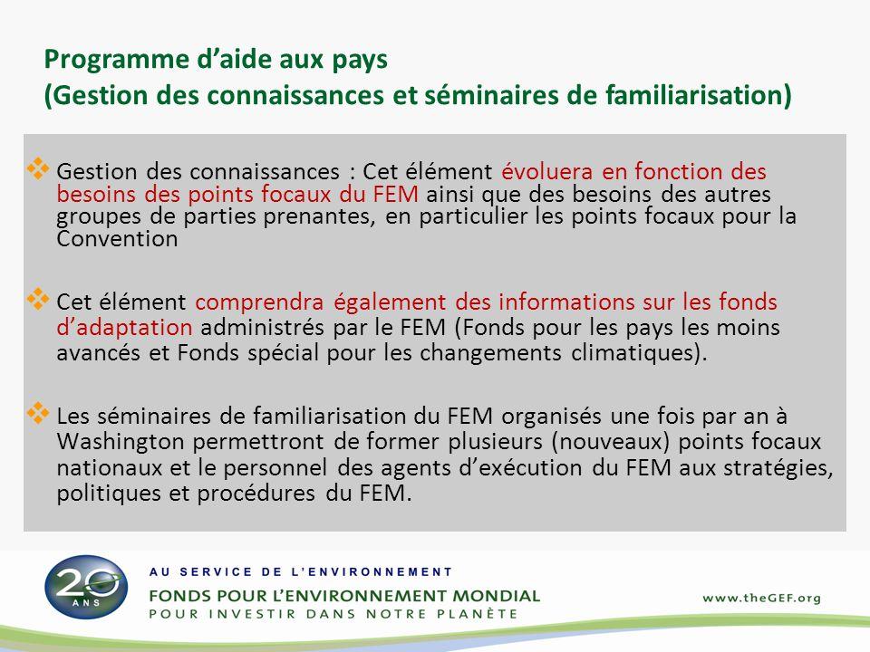 Pour plus d informations contacter le Secrétariat du FEM