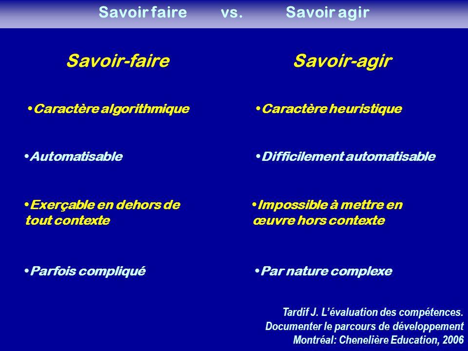 Savoir faire vs.