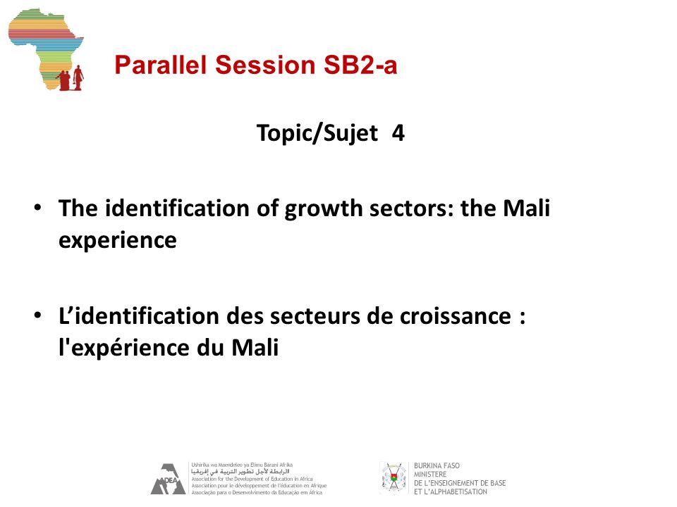Parallel Session SB2-a Topic/Sujet 5 The acquisition of employable skills L acquisition de compétences employables