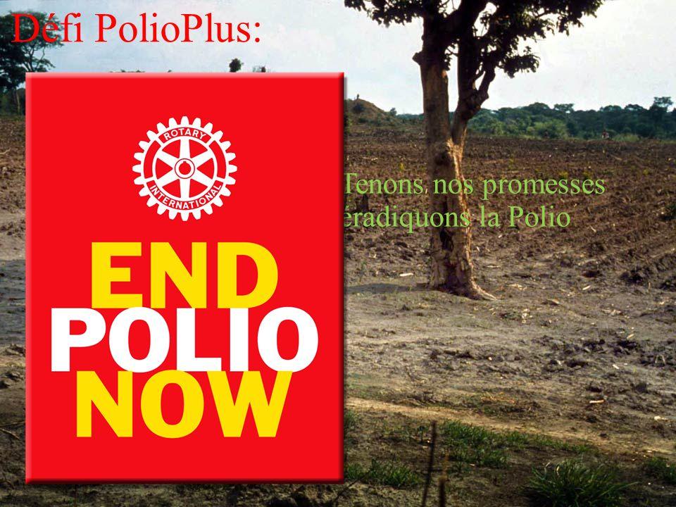 claude Sarric 17 Mars 2012 Défi PolioPlus: Tenons nos promesses éradiquons la Polio