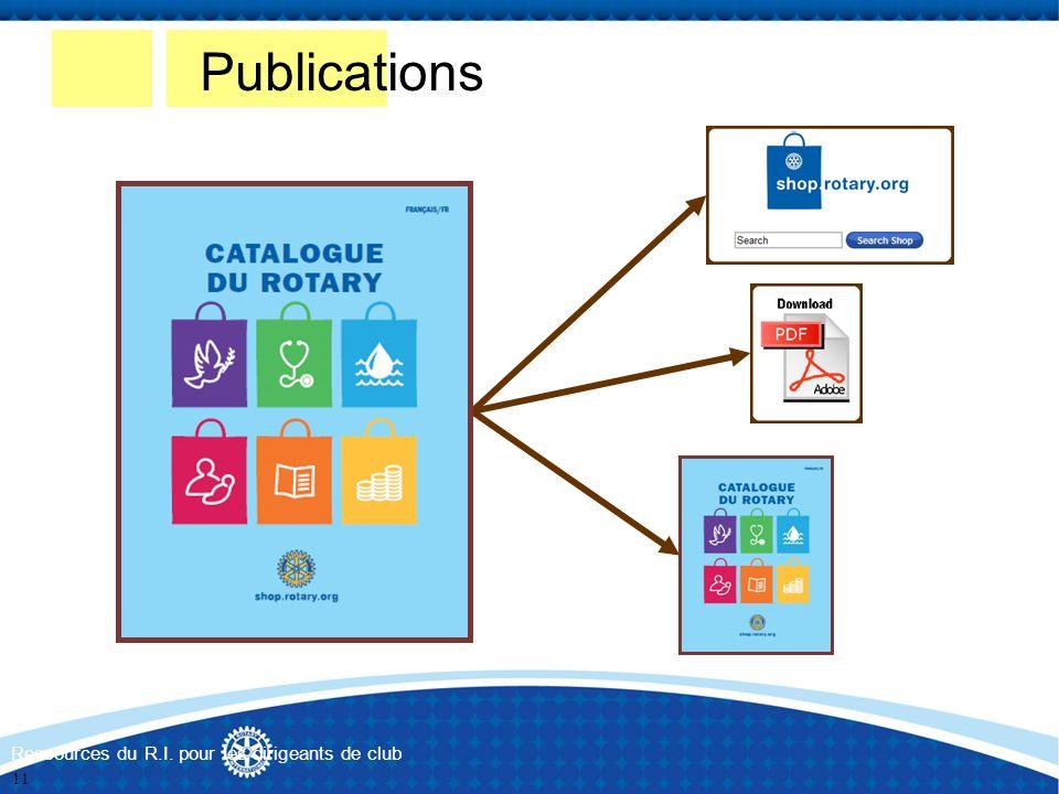 Publications Ressources du R.I. pour les dirigeants de club 11