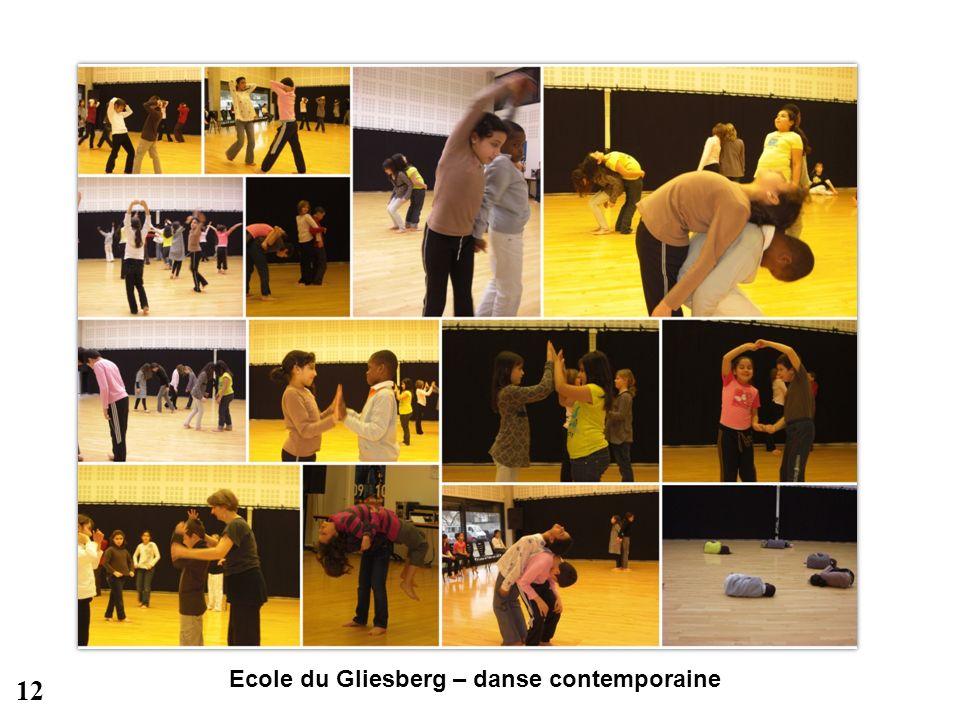 Ecole du Gliesberg – danse contemporaine 12