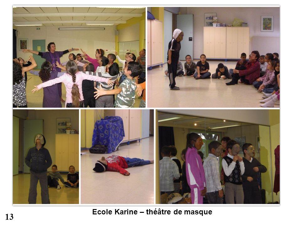 Ecole Karine – théâtre de masque 13