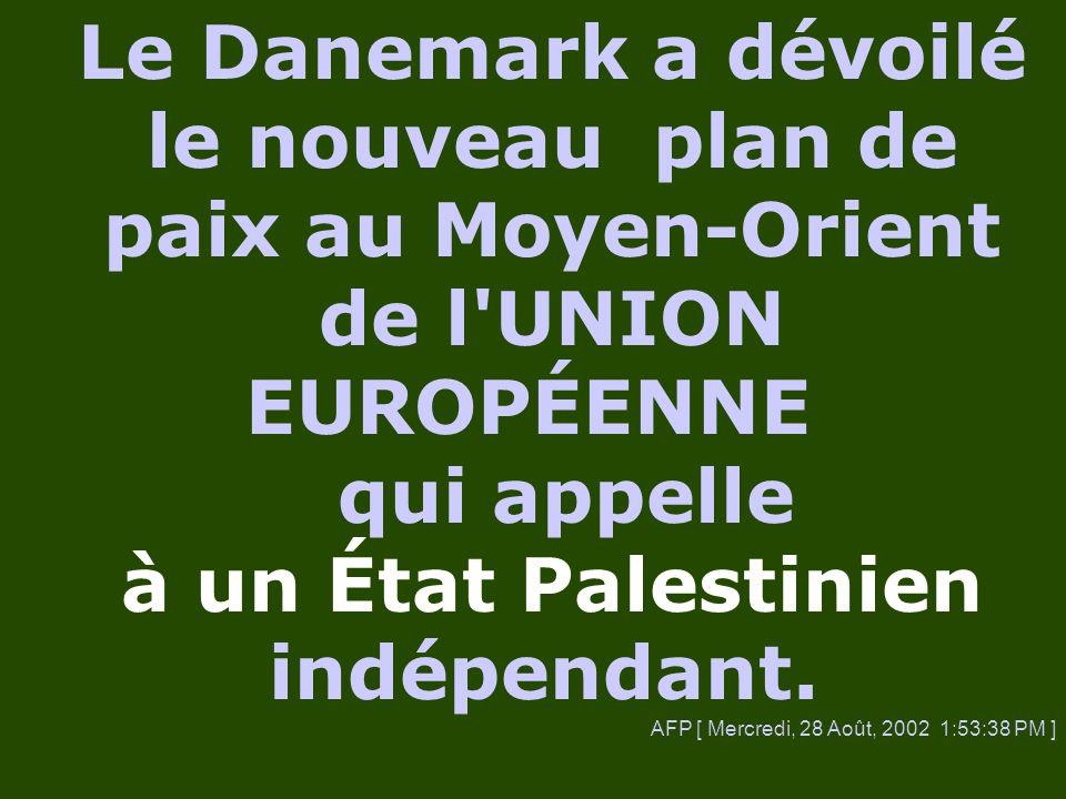 Quelle sorte d État palestinien ? Jetons un coup d œil :
