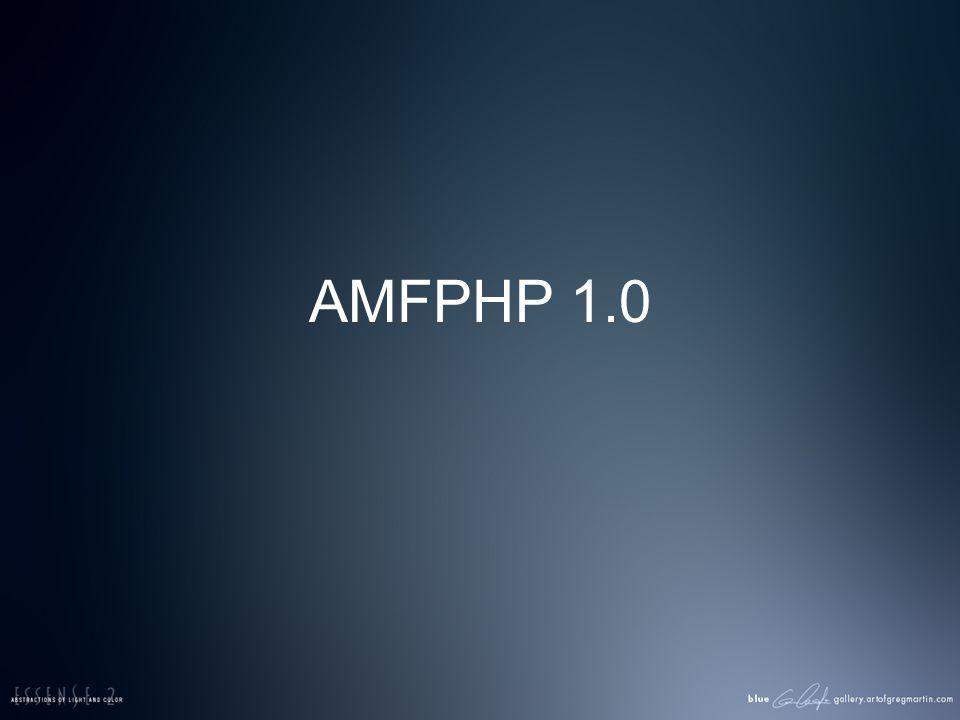 AMFPHP 1.0