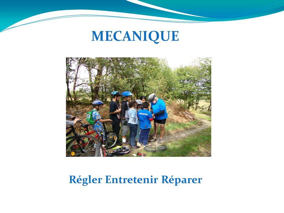 MECANIQUE Régler Entretenir Réparer
