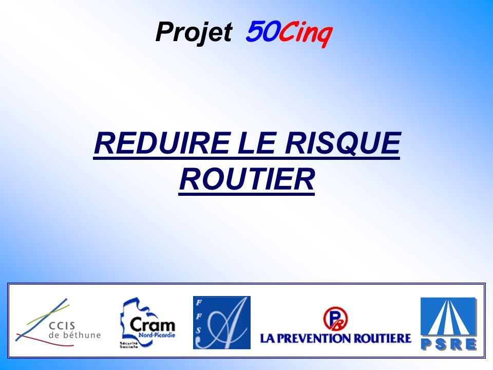 Projet 50Cinq REDUIRE LE RISQUE ROUTIER