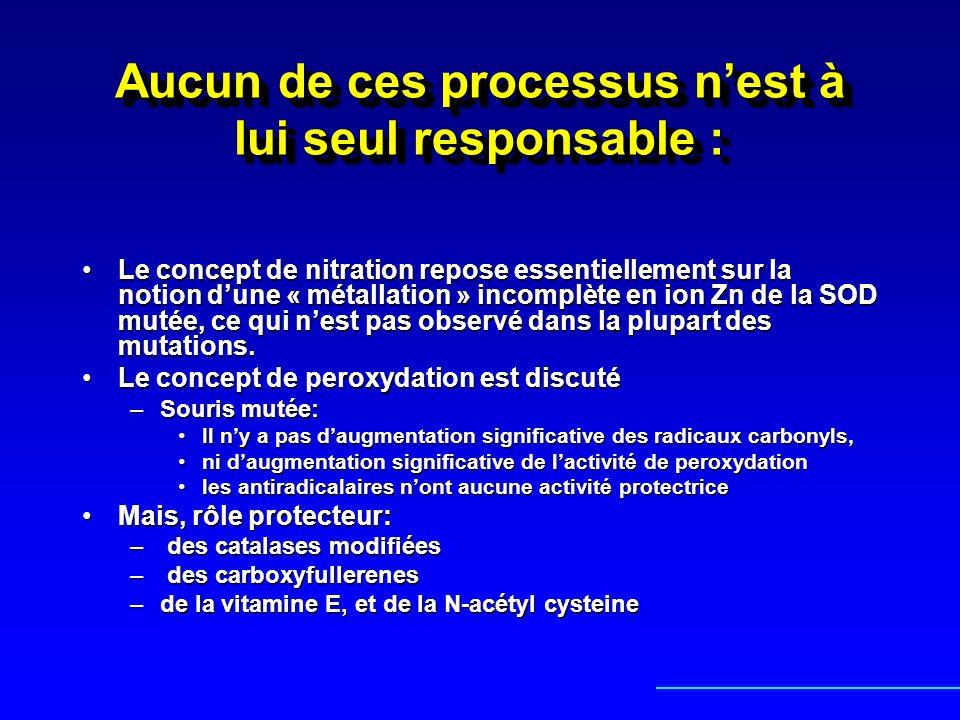 Aucun de ces processus nest à lui seul responsable : Le concept de nitration repose essentiellement sur la notion dune « métallation » incomplète en i