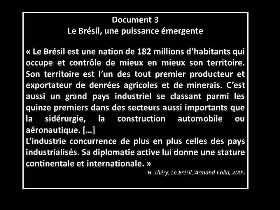 Documents 2 et 3 -Quels sont les points forts de léconomie brésilienne .