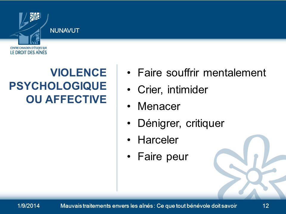 1/9/2014Mauvais traitements envers les aînés : Ce que tout bénévole doit savoir11 EXPLOITATION FINANCIÈRE Fraudes et arnaques Pression indue sur une p