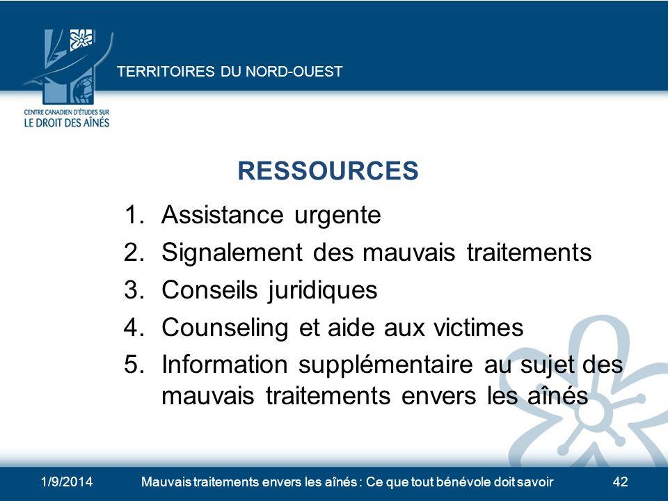 4 Qui appeler pour obtenir plus dinformation ou exprimer vos préoccupations au sujet des mauvais traitements?