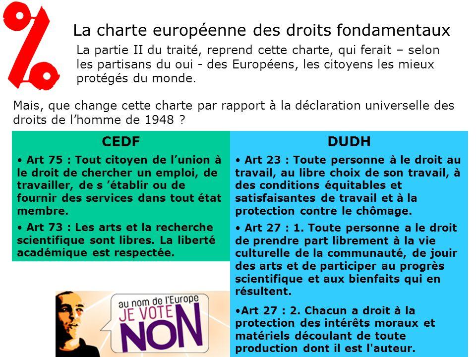 Les différences par rapport au traité de Nice Si on compare les objectifs de lUnion européenne (articles 3 et 4) avec ceux énoncés dans le traité de Nice on voit que : le «marché commun» devient la «concurrence libre et non faussée».