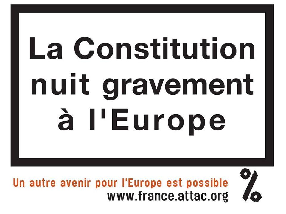 Essayons de dédramatiser La France a une maturité politique suffisante vis- à-vis de lEurope pour faire son choix en toute indépendance Le traité de Nice, bien quimparfait, a été fait pour fonctionner à 25 et il continuera à sappliquer si le traité constitutionnel est rejeté.